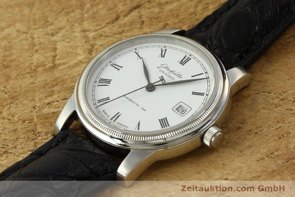 Used luxury watch Glashütte Senator steel automatic Kal. GUB 39-10 Ref. 39-11-05-03-04  | 151549 01