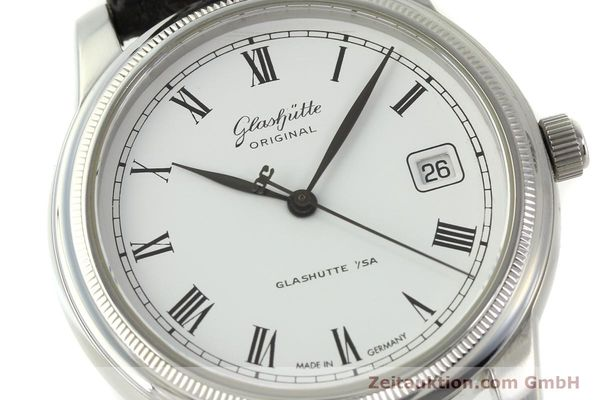Used luxury watch Glashütte Senator steel automatic Kal. GUB 39-10 Ref. 39-11-05-03-04  | 151549 02