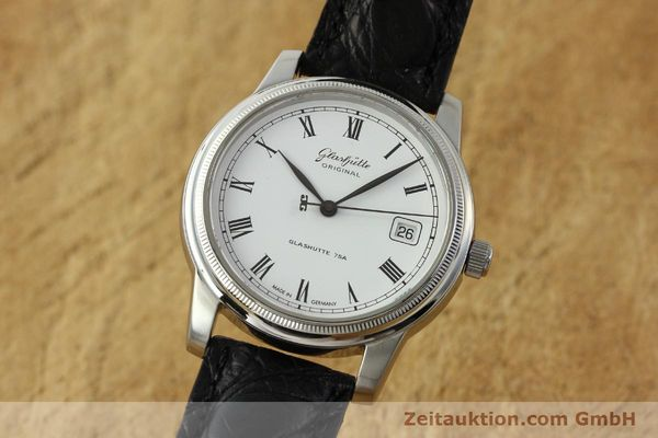 Used luxury watch Glashütte Senator steel automatic Kal. GUB 39-10 Ref. 39-11-05-03-04  | 151549 04