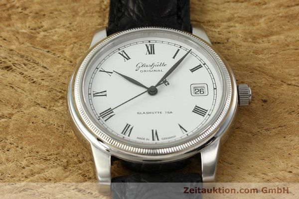 Used luxury watch Glashütte Senator steel automatic Kal. GUB 39-10 Ref. 39-11-05-03-04  | 151549 15