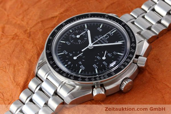 Used luxury watch Omega Speedmaster chronograph steel automatic Kal. 3220 Ref. 1750032  | 151553 01