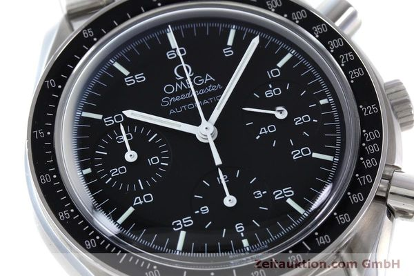 Used luxury watch Omega Speedmaster chronograph steel automatic Kal. 3220 Ref. 1750032  | 151553 02