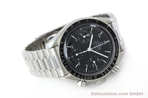 Used luxury watch Omega Speedmaster chronograph steel automatic Kal. 3220 Ref. 1750032  | 151553 03