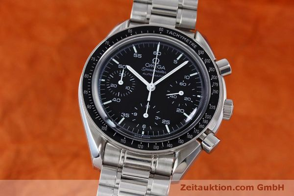 Used luxury watch Omega Speedmaster chronograph steel automatic Kal. 3220 Ref. 1750032  | 151553 04
