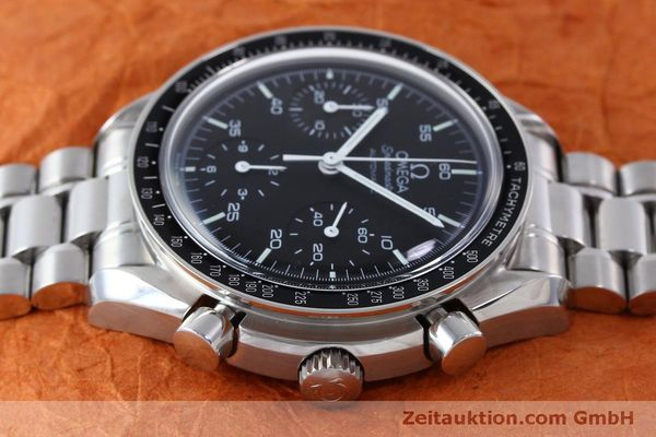Used luxury watch Omega Speedmaster chronograph steel automatic Kal. 3220 Ref. 1750032  | 151553 05