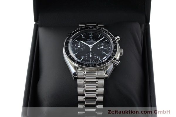 Used luxury watch Omega Speedmaster chronograph steel automatic Kal. 3220 Ref. 1750032  | 151553 07
