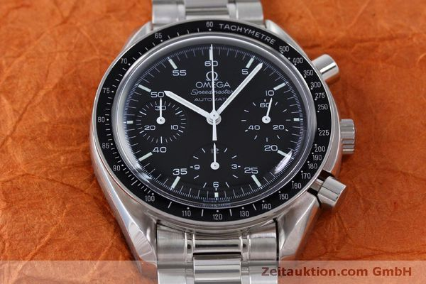Used luxury watch Omega Speedmaster chronograph steel automatic Kal. 3220 Ref. 1750032  | 151553 16