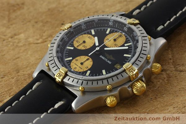 Used luxury watch Breitling Chronomat chronograph steel / gold automatic Kal. Valj.  7750 Ref. 81950  | 151562 01
