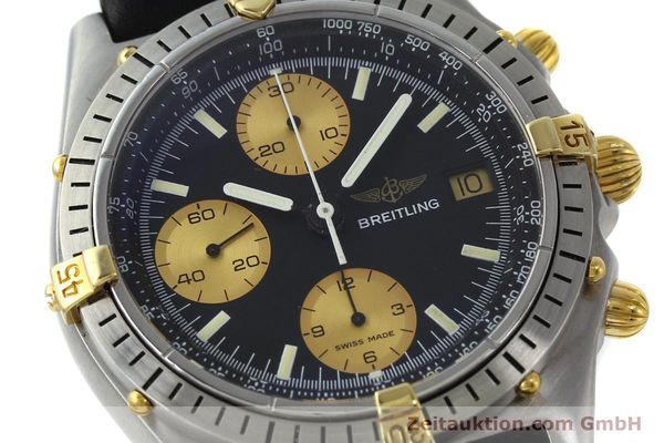 Used luxury watch Breitling Chronomat chronograph steel / gold automatic Kal. Valj.  7750 Ref. 81950  | 151562 02