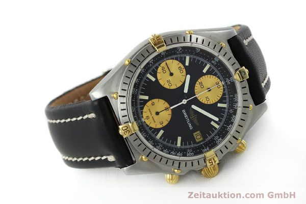 Used luxury watch Breitling Chronomat chronograph steel / gold automatic Kal. Valj.  7750 Ref. 81950  | 151562 03