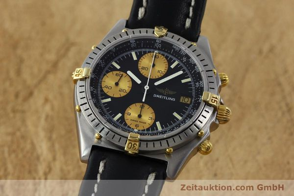 Used luxury watch Breitling Chronomat chronograph steel / gold automatic Kal. Valj.  7750 Ref. 81950  | 151562 04