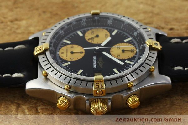 Used luxury watch Breitling Chronomat chronograph steel / gold automatic Kal. Valj.  7750 Ref. 81950  | 151562 05