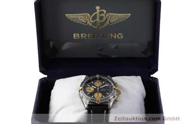 Used luxury watch Breitling Chronomat chronograph steel / gold automatic Kal. Valj.  7750 Ref. 81950  | 151562 07