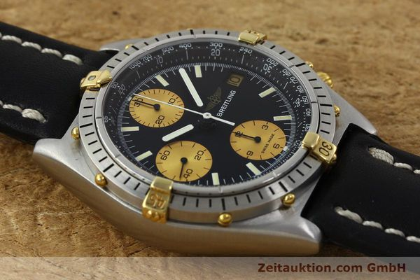 Used luxury watch Breitling Chronomat chronograph steel / gold automatic Kal. Valj.  7750 Ref. 81950  | 151562 15