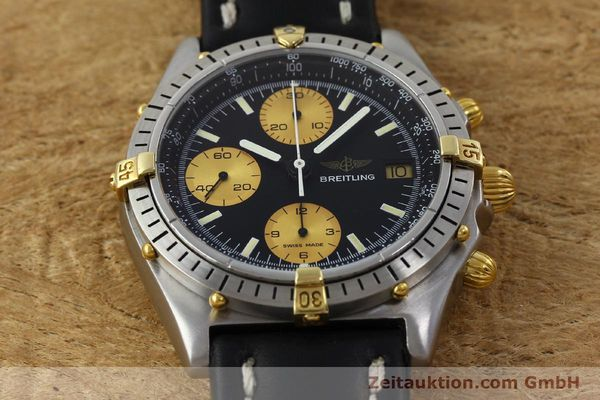 Used luxury watch Breitling Chronomat chronograph steel / gold automatic Kal. Valj.  7750 Ref. 81950  | 151562 16