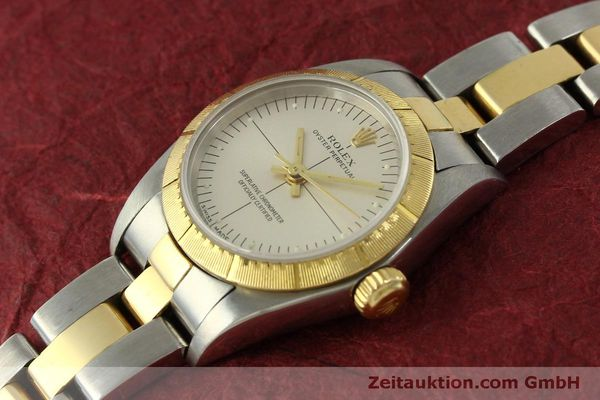 Used luxury watch Rolex Oyster Perpetual steel / gold automatic Kal. 2230 Ref. 76243  | 151564 01