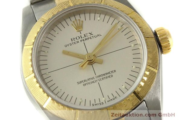 Used luxury watch Rolex Oyster Perpetual steel / gold automatic Kal. 2230 Ref. 76243  | 151564 02