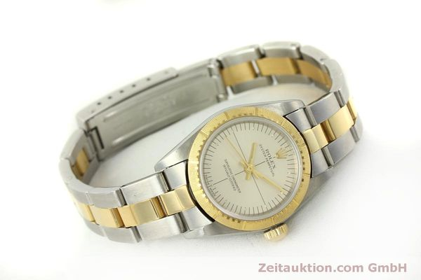 Used luxury watch Rolex Oyster Perpetual steel / gold automatic Kal. 2230 Ref. 76243  | 151564 03