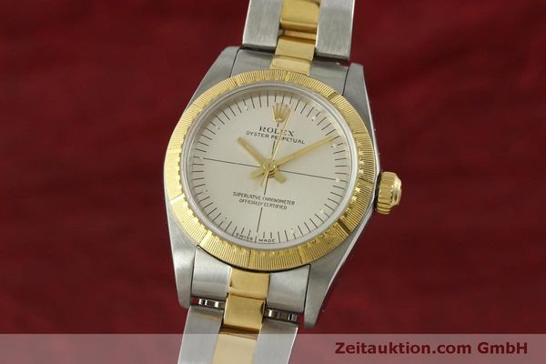 Used luxury watch Rolex Oyster Perpetual steel / gold automatic Kal. 2230 Ref. 76243  | 151564 04