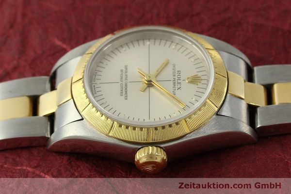 Used luxury watch Rolex Oyster Perpetual steel / gold automatic Kal. 2230 Ref. 76243  | 151564 05