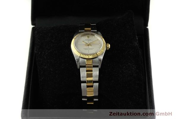 Used luxury watch Rolex Oyster Perpetual steel / gold automatic Kal. 2230 Ref. 76243  | 151564 07