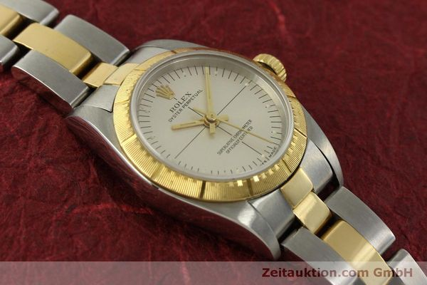 Used luxury watch Rolex Oyster Perpetual steel / gold automatic Kal. 2230 Ref. 76243  | 151564 14