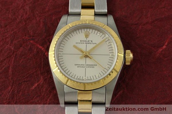 Used luxury watch Rolex Oyster Perpetual steel / gold automatic Kal. 2230 Ref. 76243  | 151564 15