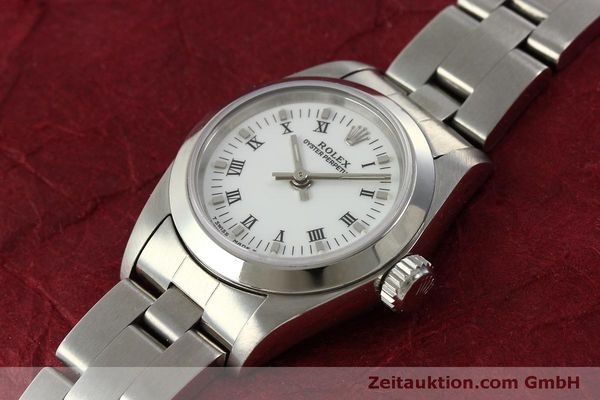 Used luxury watch Rolex Oyster Perpetual steel automatic Kal. 2130 Ref. 67180  | 151565 01