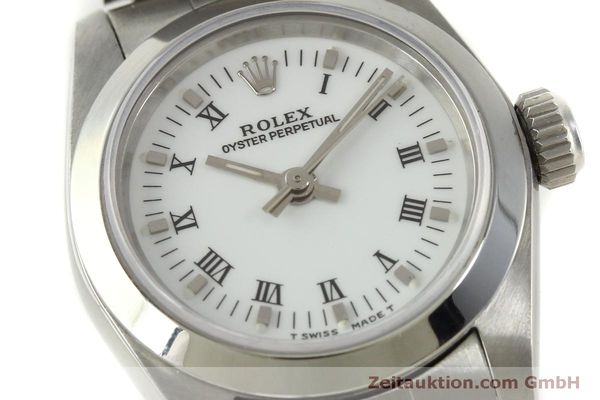 Used luxury watch Rolex Oyster Perpetual steel automatic Kal. 2130 Ref. 67180  | 151565 02