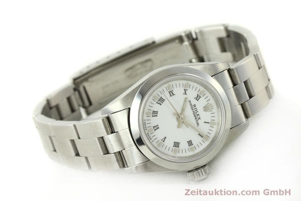 Used luxury watch Rolex Oyster Perpetual steel automatic Kal. 2130 Ref. 67180  | 151565 03