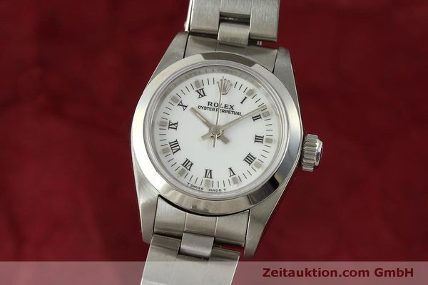 Used luxury watch Rolex Oyster Perpetual steel automatic Kal. 2130 Ref. 67180  | 151565 04