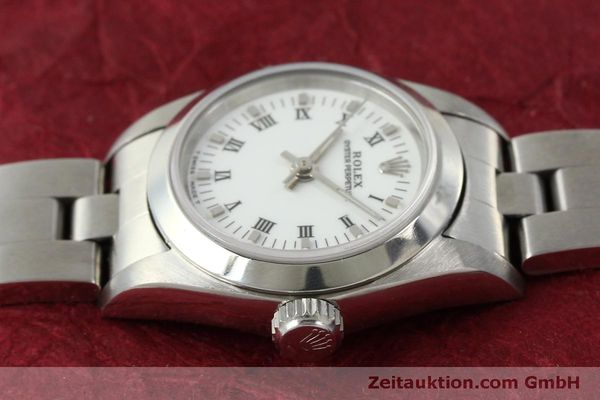 Used luxury watch Rolex Oyster Perpetual steel automatic Kal. 2130 Ref. 67180  | 151565 05