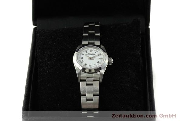 Used luxury watch Rolex Oyster Perpetual steel automatic Kal. 2130 Ref. 67180  | 151565 07