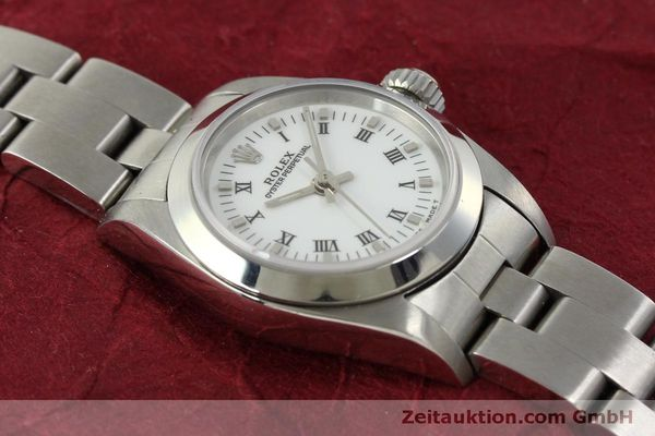 Used luxury watch Rolex Oyster Perpetual steel automatic Kal. 2130 Ref. 67180  | 151565 15