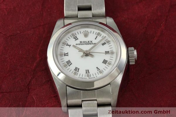 Used luxury watch Rolex Oyster Perpetual steel automatic Kal. 2130 Ref. 67180  | 151565 16
