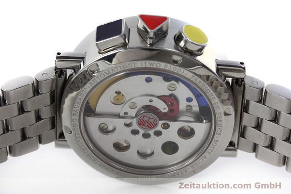 Used luxury watch Alain Silberstein Krono Bauhaus chronograph steel automatic Kal. LWO 5100 LIMITED EDITION | 151568 09