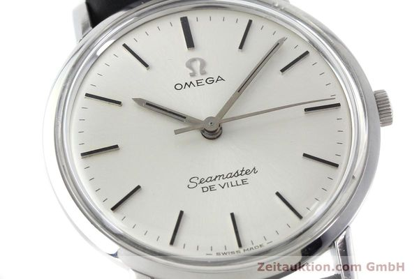 Used luxury watch Omega Seamaster steel manual winding Kal. 601 Ref. 136.010  | 151570 02