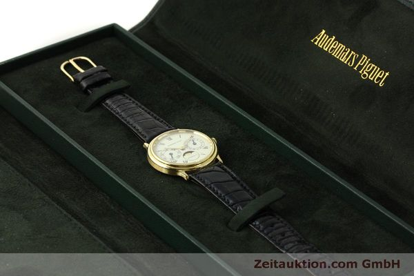 Used luxury watch Audemars Piguet Day-Date Moonphase 18 ct gold automatic Kal. 2124  | 151572 07