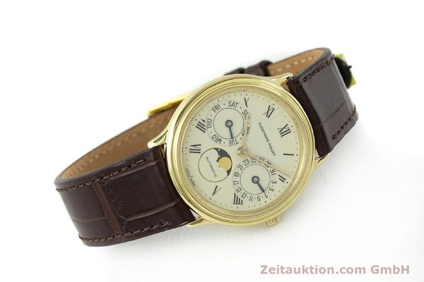 Used luxury watch Audemars Piguet Day-Date Moonphase 18 ct gold automatic Kal. 2124  | 151574 03