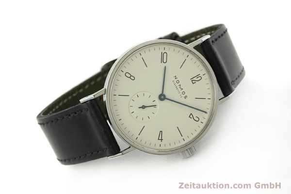 Used luxury watch Nomos Tangente steel manual winding Kal. ETA 7001 LIMITED EDITION | 151579 03