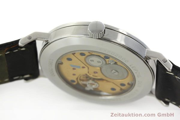 Used luxury watch Nomos Tangente steel manual winding Kal. ETA 7001 LIMITED EDITION | 151579 08