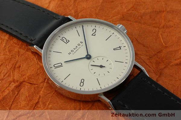 Used luxury watch Nomos Tangente steel manual winding Kal. ETA 7001 LIMITED EDITION | 151579 14