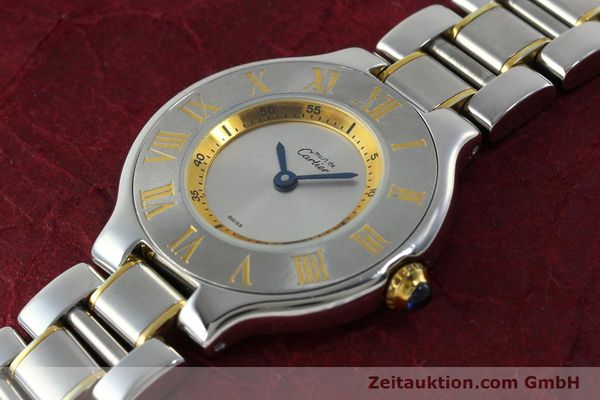 Used luxury watch Cartier Ligne 21 gilt steel quartz Kal. 690  | 151580 01