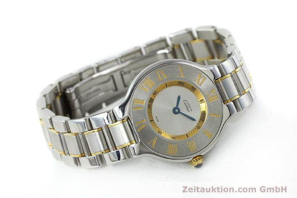 Used luxury watch Cartier Ligne 21 gilt steel quartz Kal. 690  | 151580 03