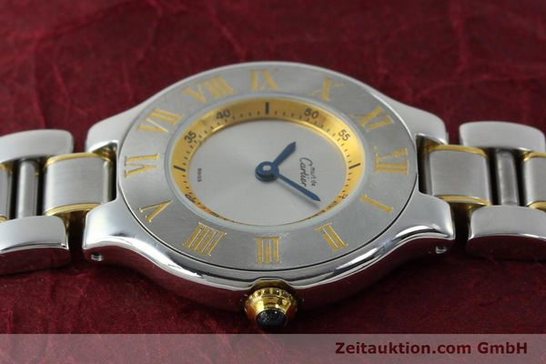 Used luxury watch Cartier Ligne 21 gilt steel quartz Kal. 690  | 151580 05