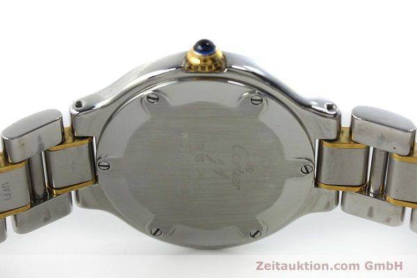 Used luxury watch Cartier Ligne 21 gilt steel quartz Kal. 690  | 151580 09