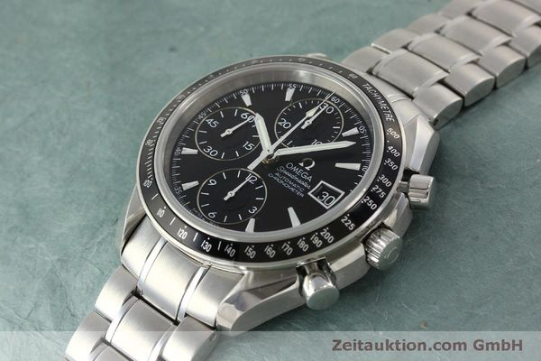 Used luxury watch Omega Speedmaster chronograph steel automatic Kal. 1164 B Ref. 32105000  | 151590 01