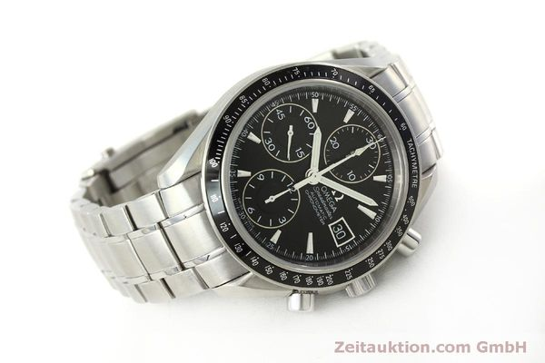 Used luxury watch Omega Speedmaster chronograph steel automatic Kal. 1164 B Ref. 32105000  | 151590 03