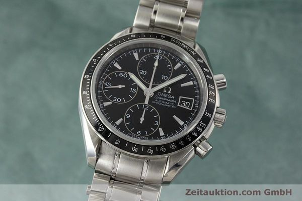 Used luxury watch Omega Speedmaster chronograph steel automatic Kal. 1164 B Ref. 32105000  | 151590 04