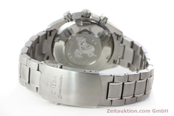 Used luxury watch Omega Speedmaster chronograph steel automatic Kal. 1164 B Ref. 32105000  | 151590 13
